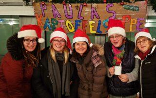 Weihnachtsmarkt an der PGS